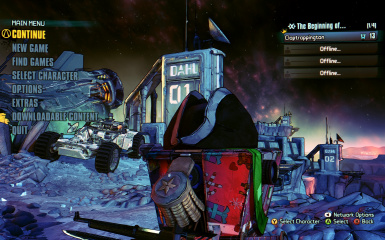 Borderlands The Pre-Sequel RESHADE No More Blue Tint