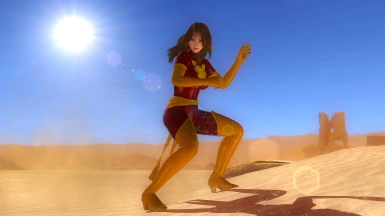 Ayane with Jean Grey's Phoenix Outfit