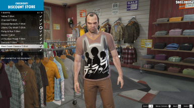 35 Anime T-Shirts for Trevor
