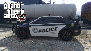 ARMORED POLICE KURUMA (REPLACE)