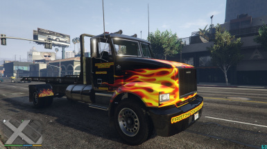 Flatbed Retextued Liverys