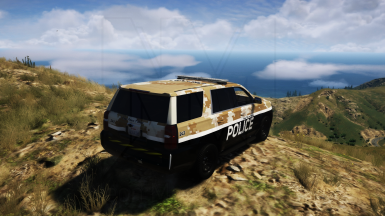 Cayo Perico Village Police Texture Pack