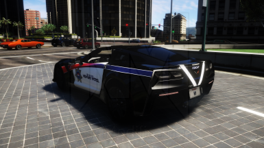 Free State of Northern California Highway Patrol (Cyberpunk - Fictional) Texture