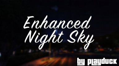 Enhanced Night Sky