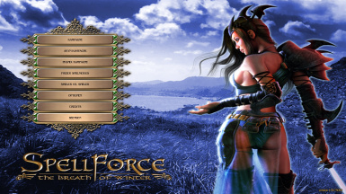 Spellforce SotP Menu Replacement