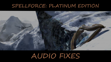 Audio Fixes