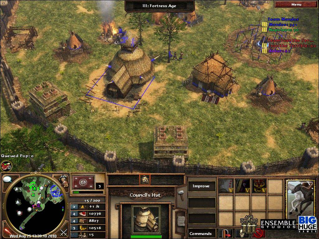 Napoleonic Era 2.1.7b. Napoleonic Era expands Age of Empires III and its both expansions with 7 new and 2 reworked civs, over 20 new maps, new natives, a better AI and tons of new unique and shared units, techs, buildings and gameplay features.