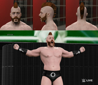 Sheamus Heel Attire 2015