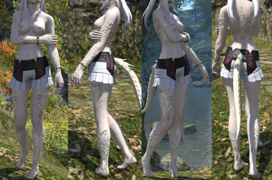 Ruta's Custom 2k Scales - Body and Face at Final Fantasy XIV Nexus