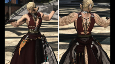 DoM's Ravel Keeper's Chestwrap (The Body)