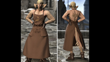 Revealing Craftsman's Apron (Medium NBP)