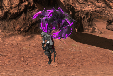 Purple Magitek Death Claw