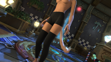Bridesmaid Tights with Spats at Final Fantasy XIV Nexus - Mods and