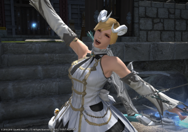 Pure White Ultima Horn