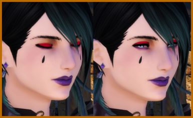 Gothic Berry (Highlander F Face 1)