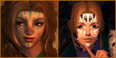 Fujin's Fox (Face Paint 20) - Yanxia Collection