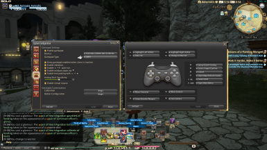 Nintendo Switch Controller Buttons for FFXIV