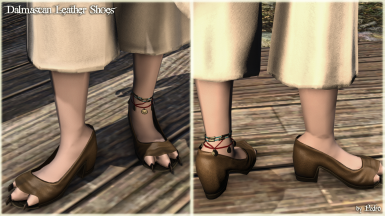 Dalmascan Leather Shoes (The New Viera Feet)
