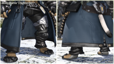 Bodyguard's Thighboots (Anatomically Correct hrBody)
