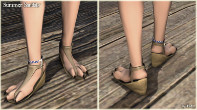 Summer Sandals (The New Viera Feet)