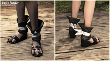 Pagos Sandals (The New Viera Feet)