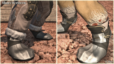 Miner's Workboots (Anatomically Correct hrBody)