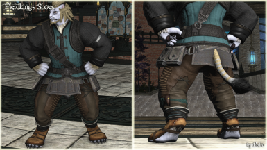 Fieldking's Shoes (Anatomically Correct hrBody)