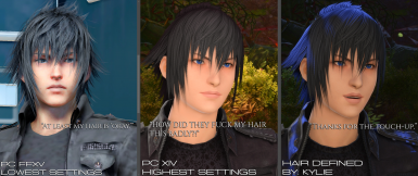 Hair Defined at Final Fantasy XIV Nexus - Mods and community