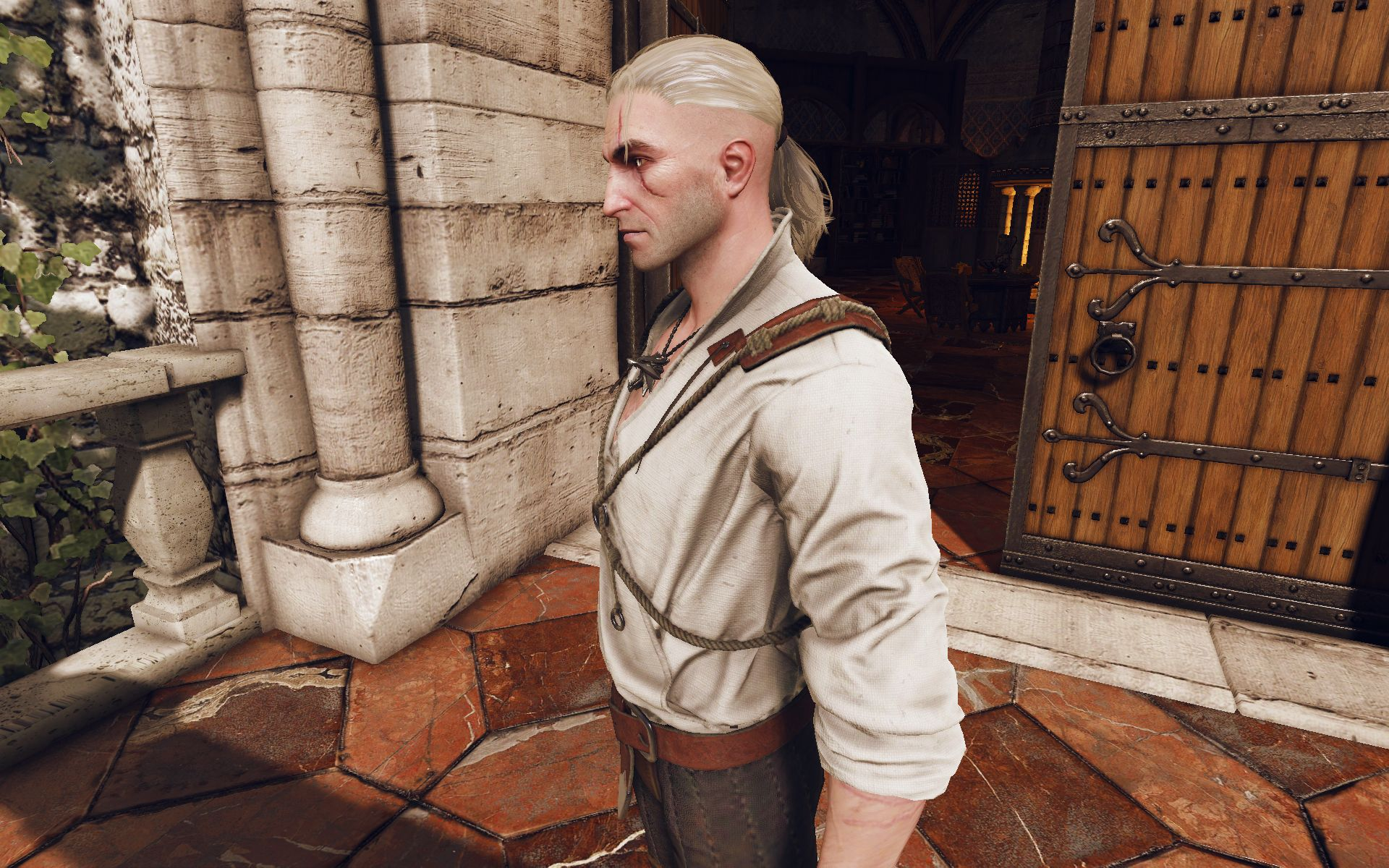 Witcher 3 Hair Styles: Real Shaved Sides Hairstyle At The Witcher 3 Nexus