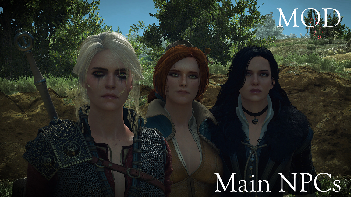 High quality faces at the witcher 3 nexus mods and community