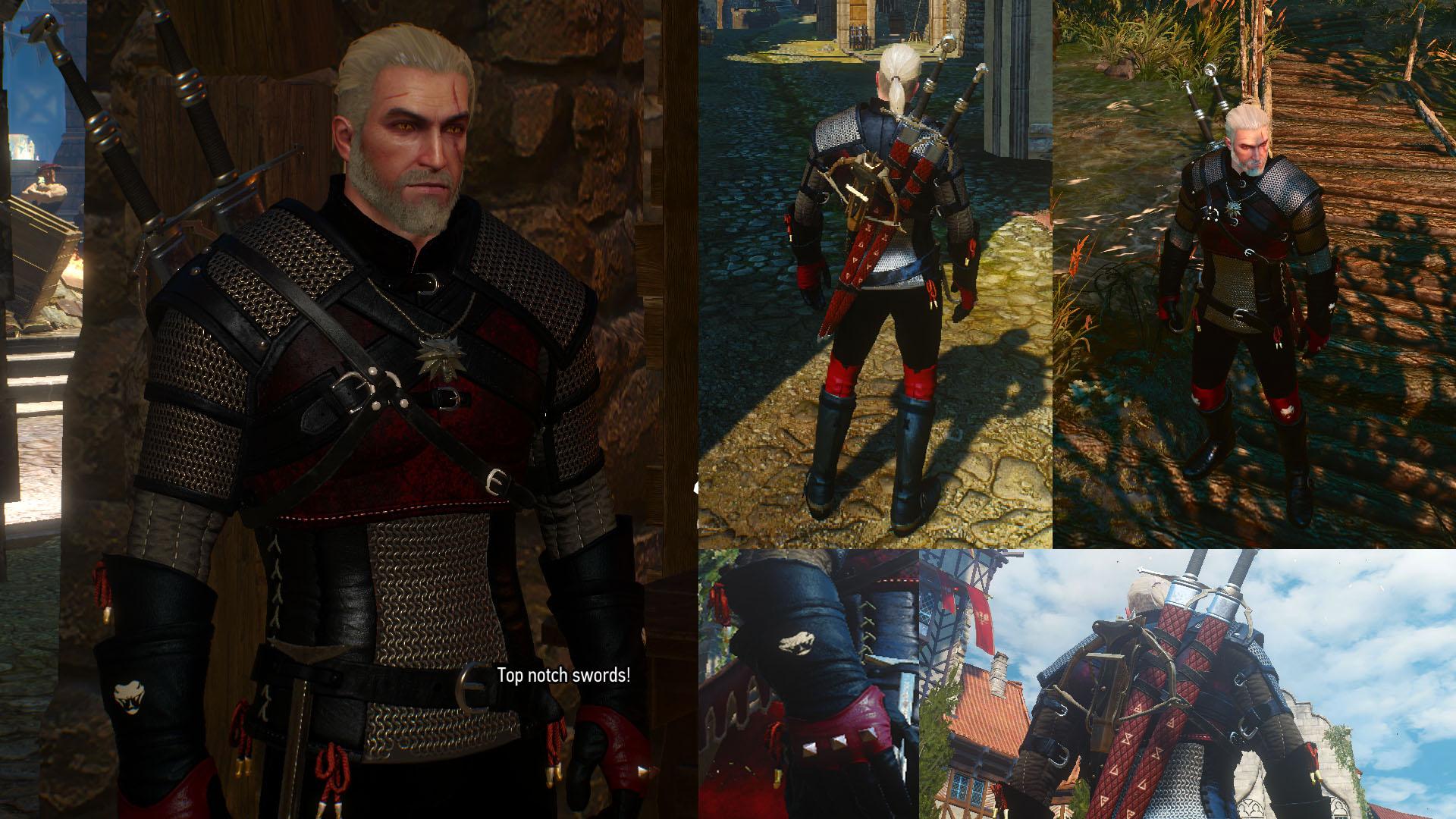 Yet Another Viper Armor Retexture At The Witcher 3 Nexus Mods And Community