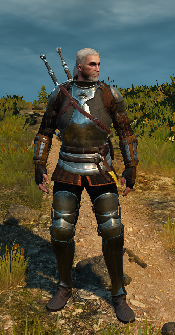 Ban Ard brown with Lyrian Pants at The Witcher 3 Nexus