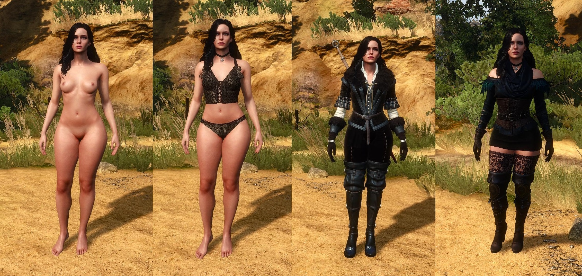 Witcher 3 sex mods