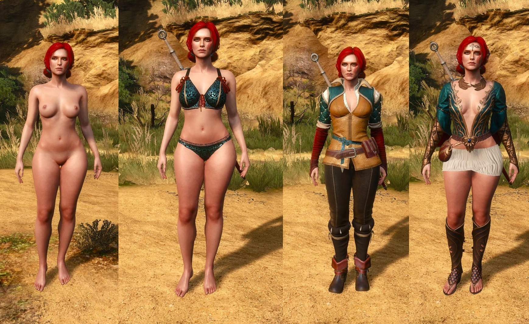 shani the witcher nude mod