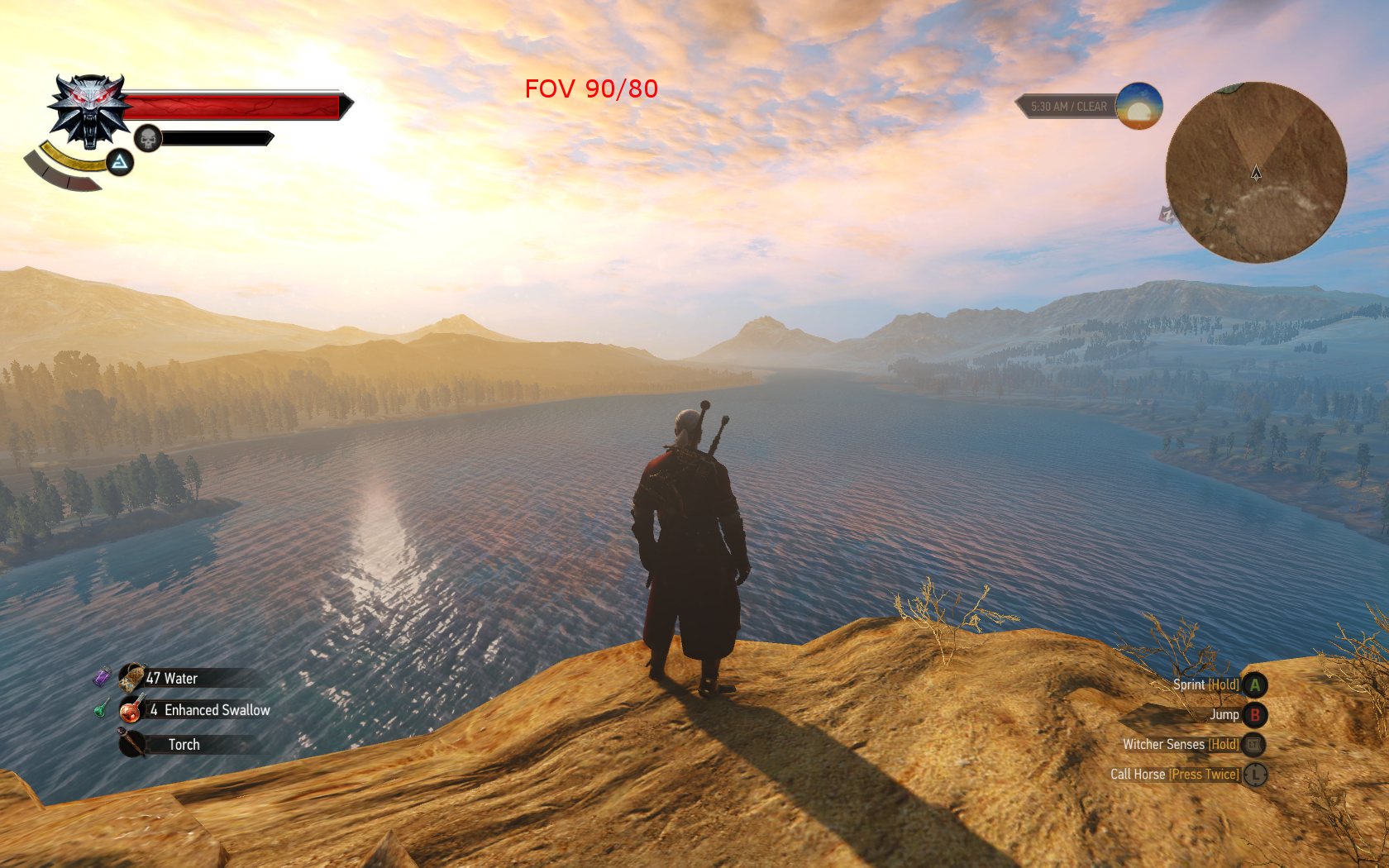 Wider FOV [Патч 1.21] для The Witcher 3: Wild Hunt - Скриншот 2