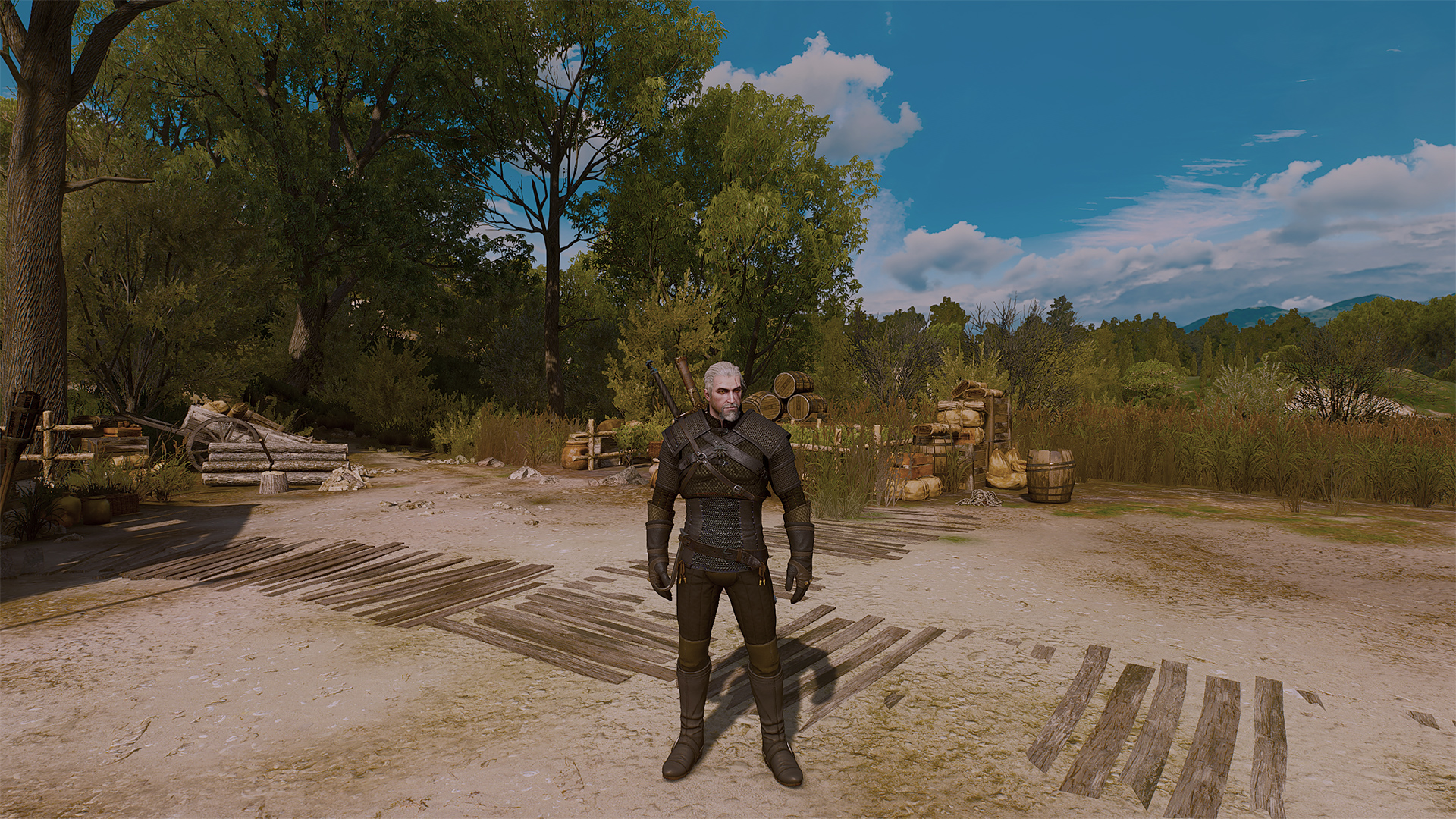 Blood and Wine Reshade TEST для The Witcher 3: Wild Hunt - Скриншот 1