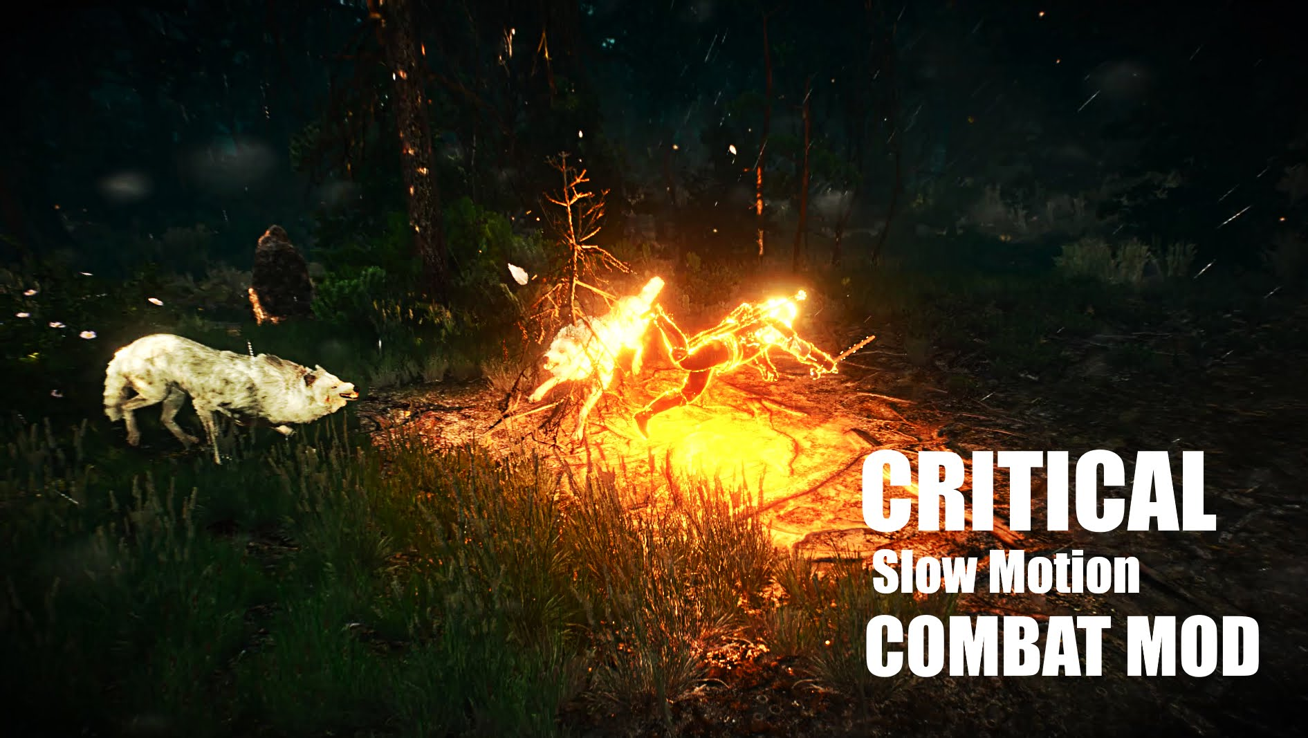 Critical Slow Motion Combat Mod для The Witcher 3: Wild Hunt - Скриншот 1