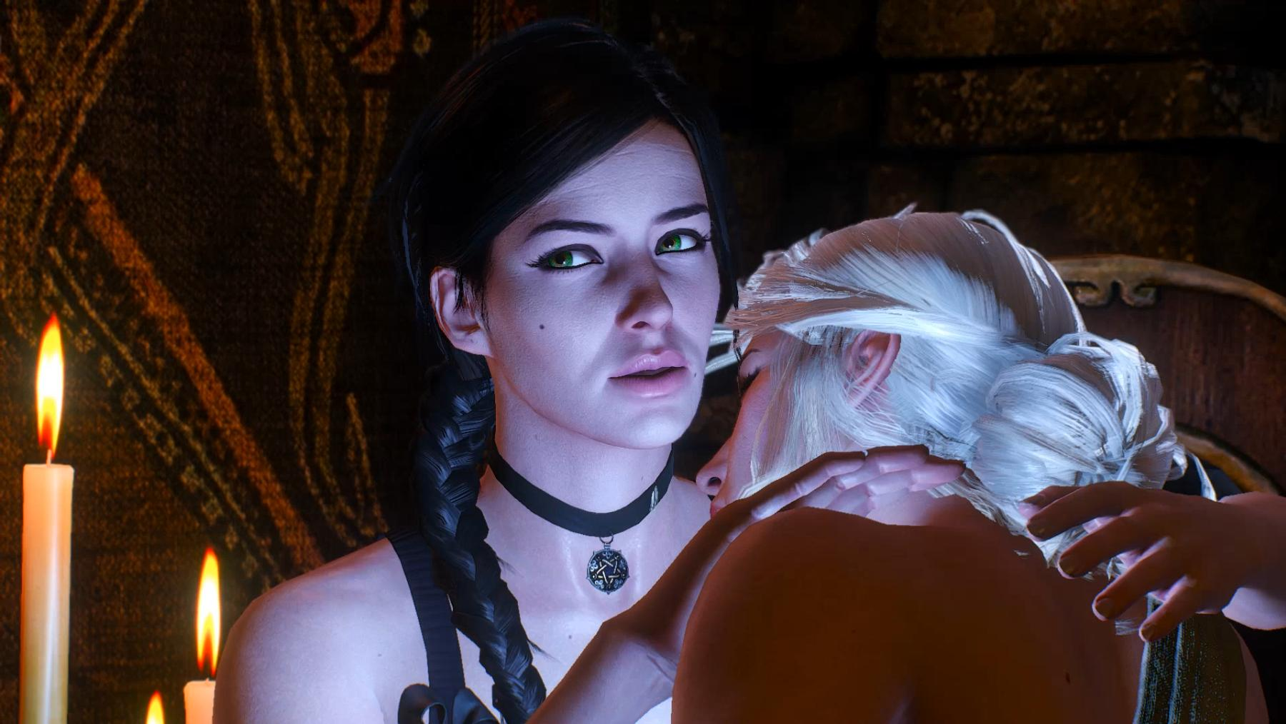 Yennefer New Makeup Hair Witcher Nexus Mods