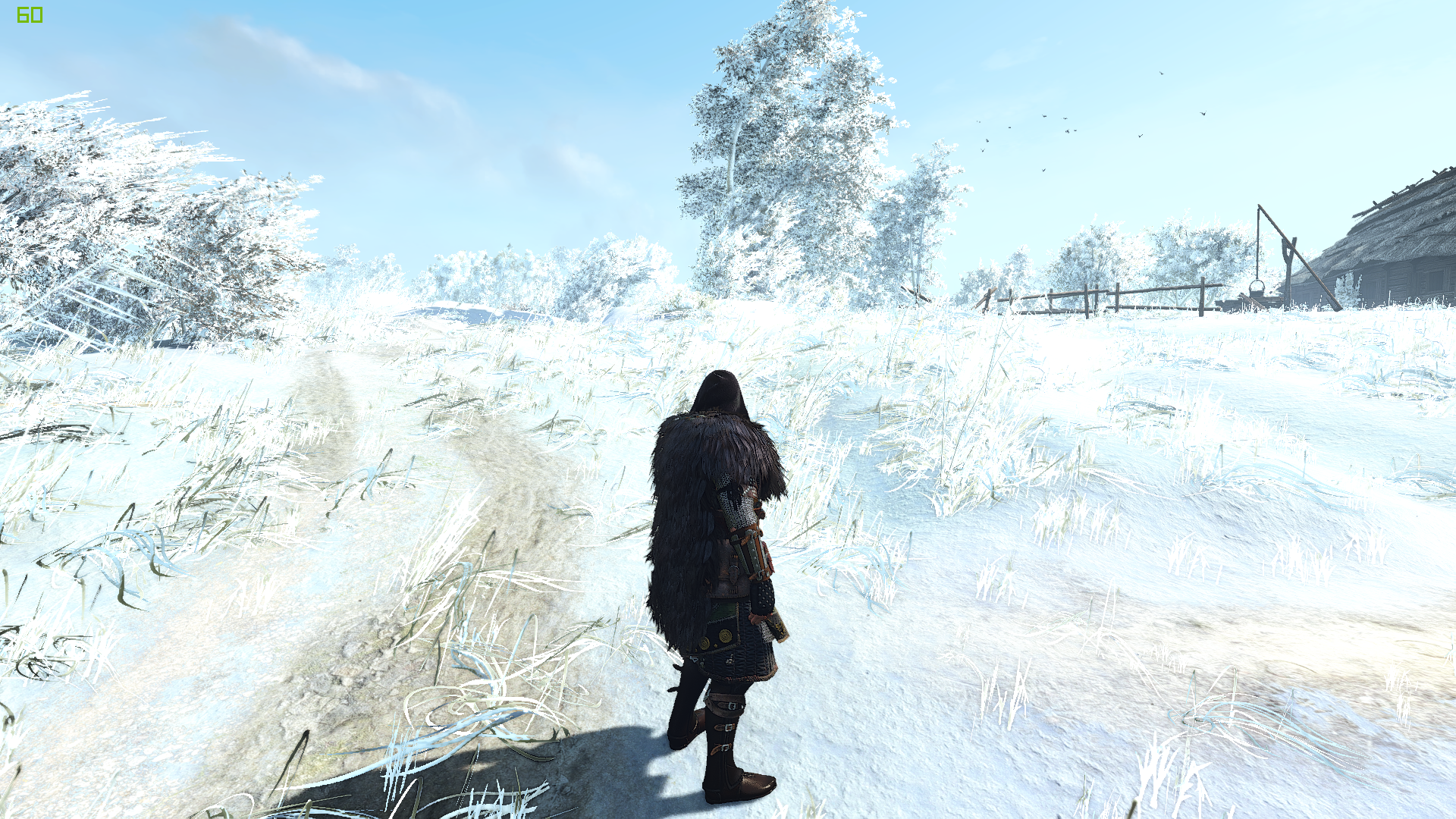 """Winter is coming / Мод """"Зима"""" для The Witcher 3: Wild Hunt - Скриншот 2"""
