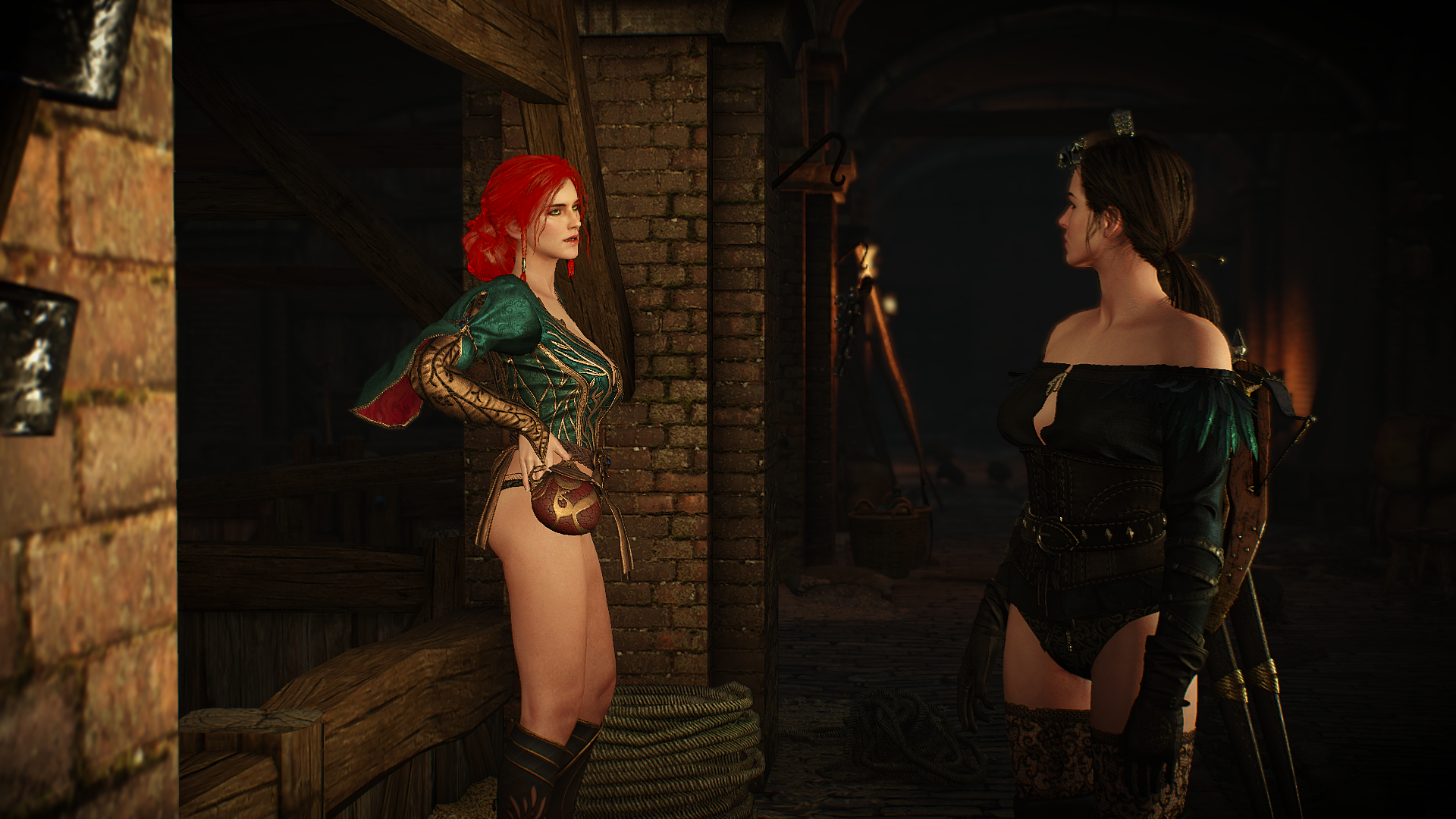 how to change looks triss