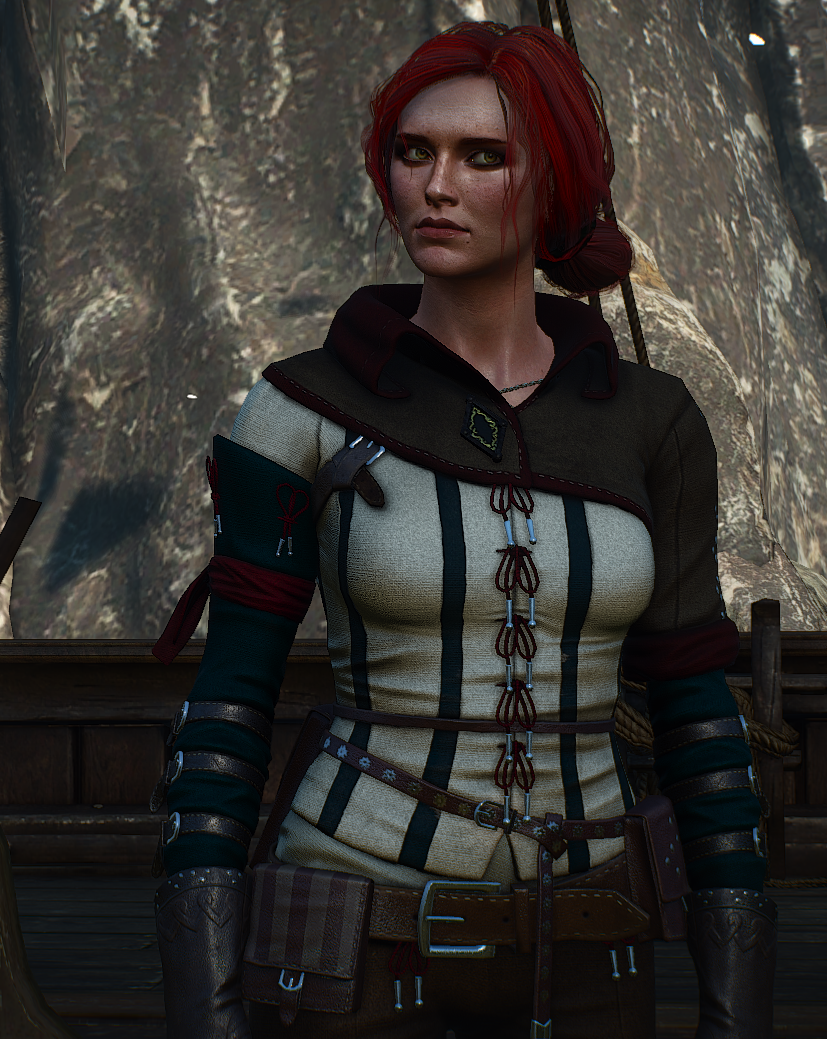 Triss Witcher 2 at The Witcher 3 Nexus - Mods and community