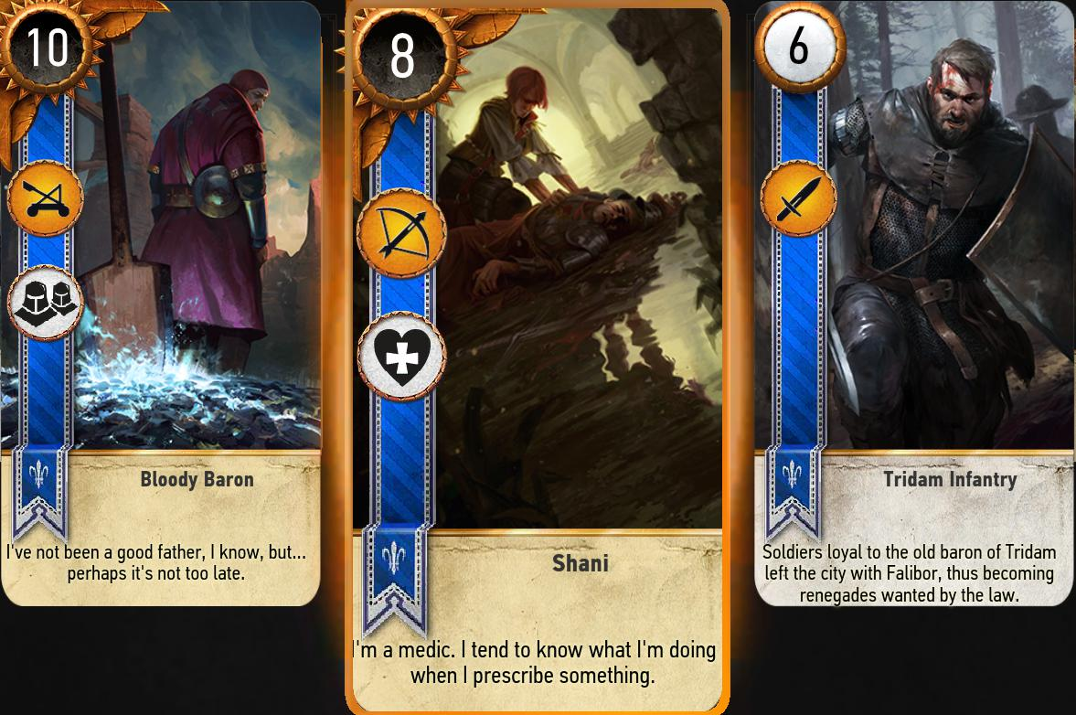 gwent the witcher card game extra cards at the witcher 3
