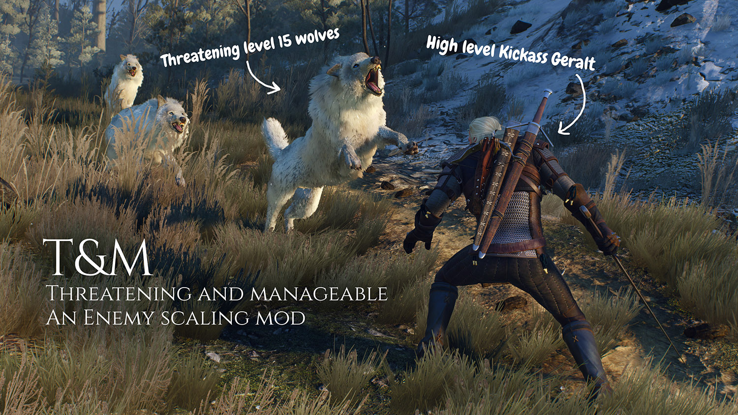 T and M - Threatening and manageable - Enemy scaling mod at