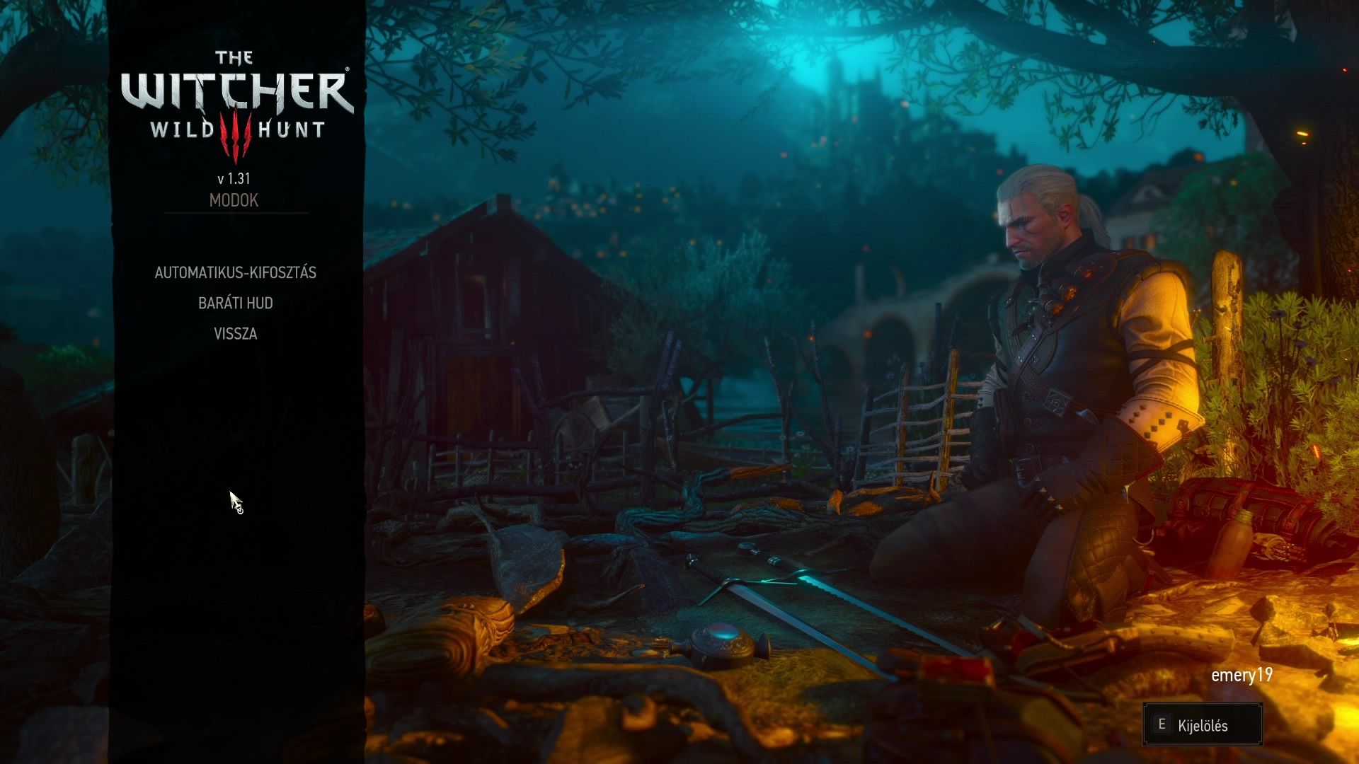 HUN Friendly HUD and AutoLoot at The Witcher 3 Nexus - Mods