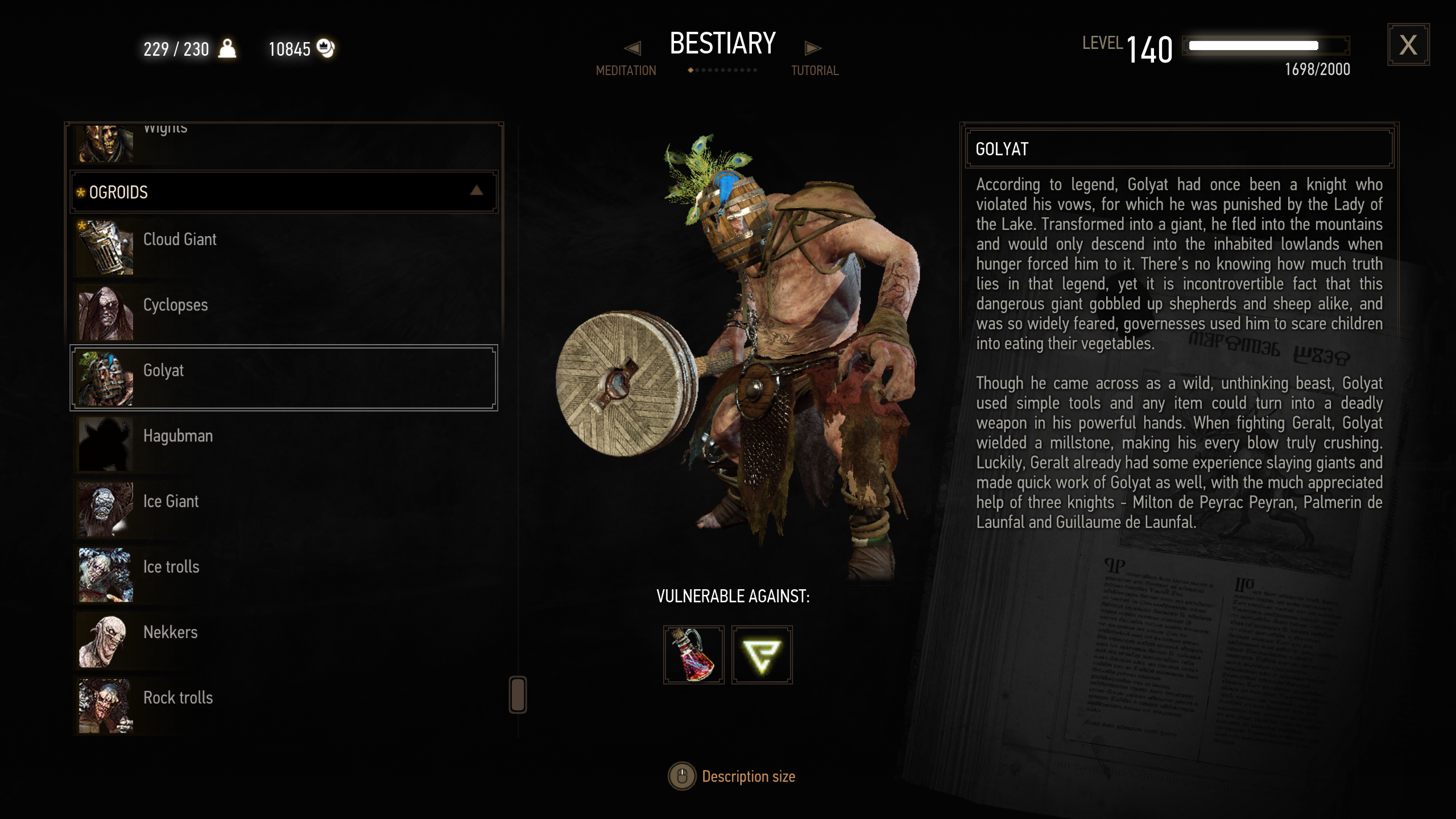Live Bestiary ( 3D Models in the Bestiary ) at The Witcher 3