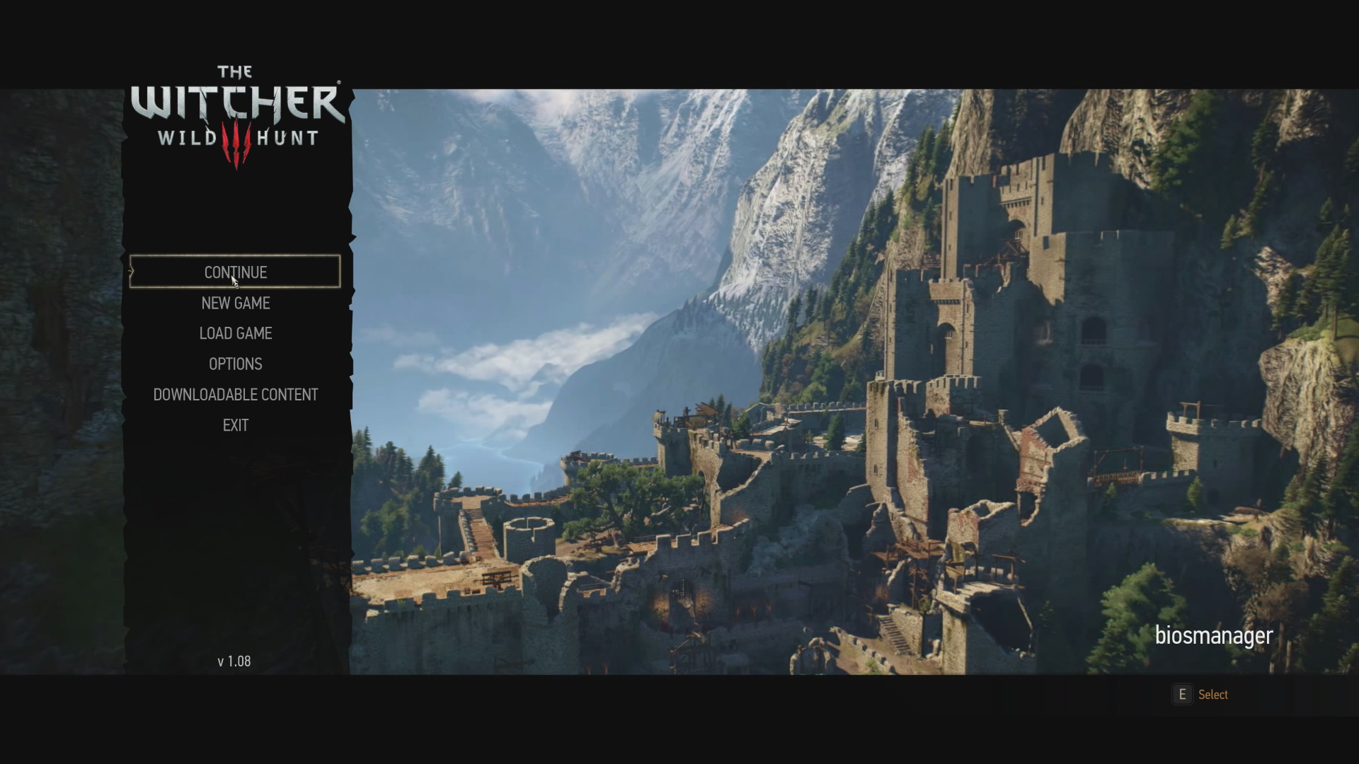 Beautiful World Main Menu Replacement at The Witcher 3 Nexus Mods and com