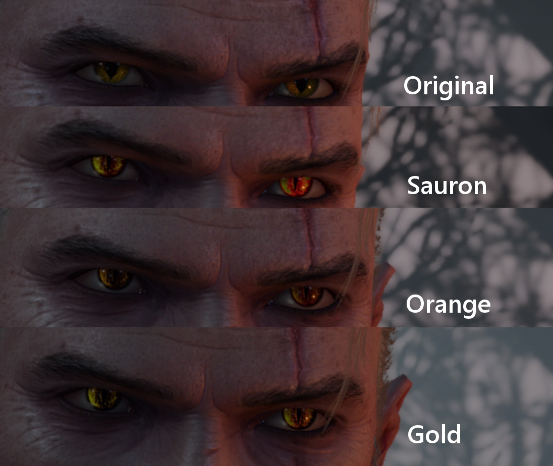 Eyes of Sauron at The Witcher 3 Nexus - Mods and community