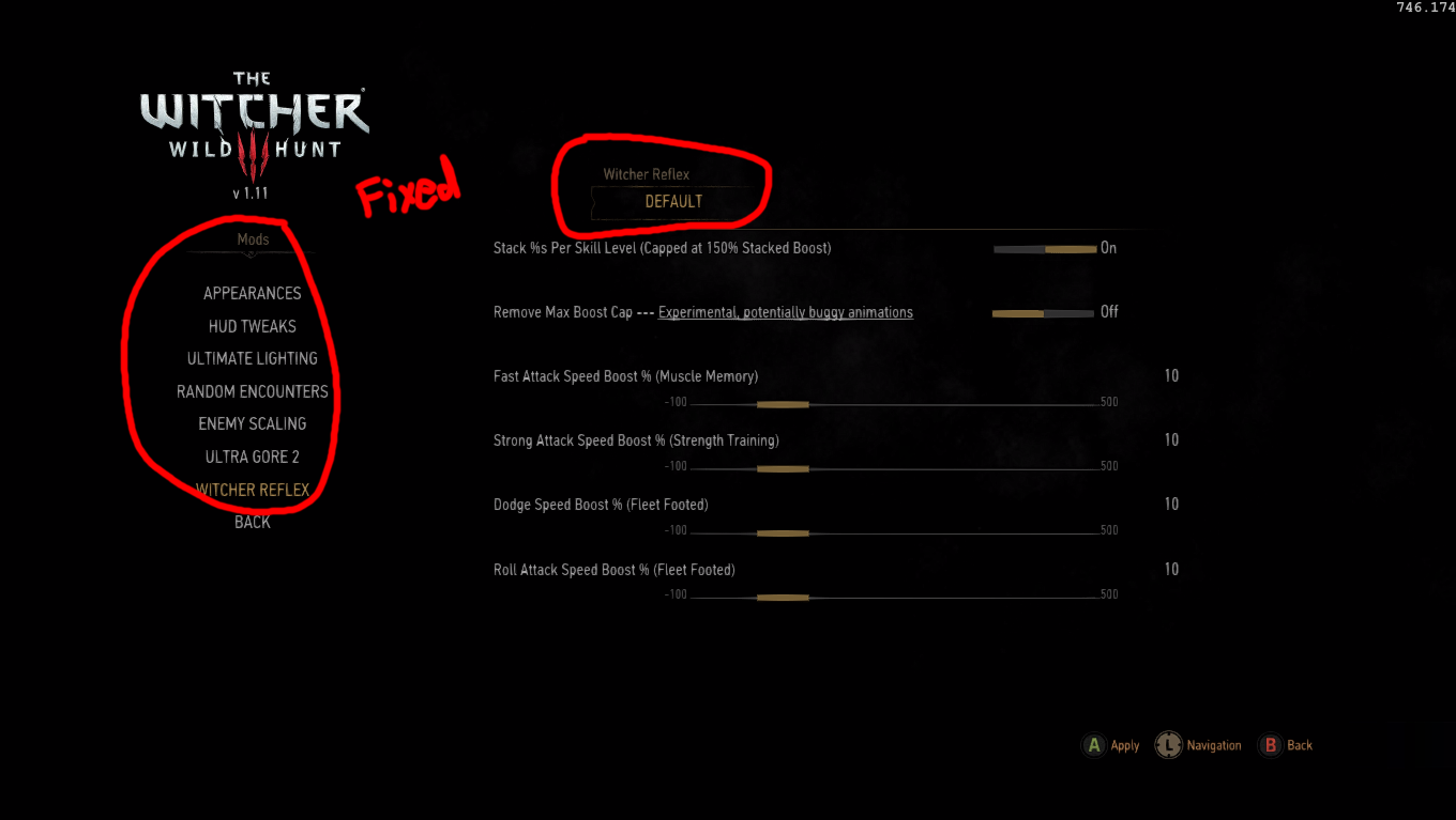 How do I get this mod menu? is it a mod? : witcher