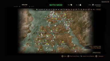 Main map zoom updated at the witcher 3 nexus mods and community main map zoom updated gumiabroncs Gallery