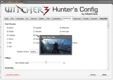 W3HC - Witcher 3 Hunter's Config